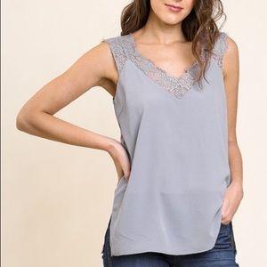 Eyelash Lace camisole